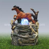 Quality Animal fountains Horse water fountain crafts for sale
