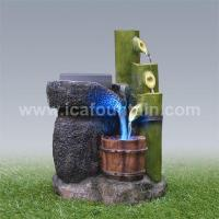 Quality Bamboo fountains Rotating millstone bamboo fountains for sale