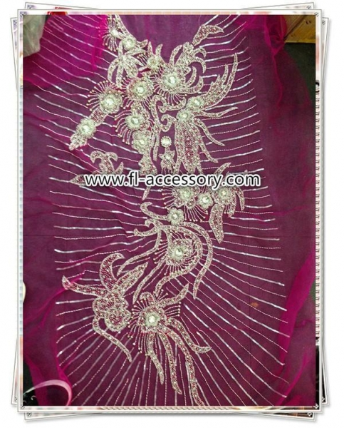 Buy High Class Handmade Appliques for Wedding/Evening dress FA-001 at wholesale prices
