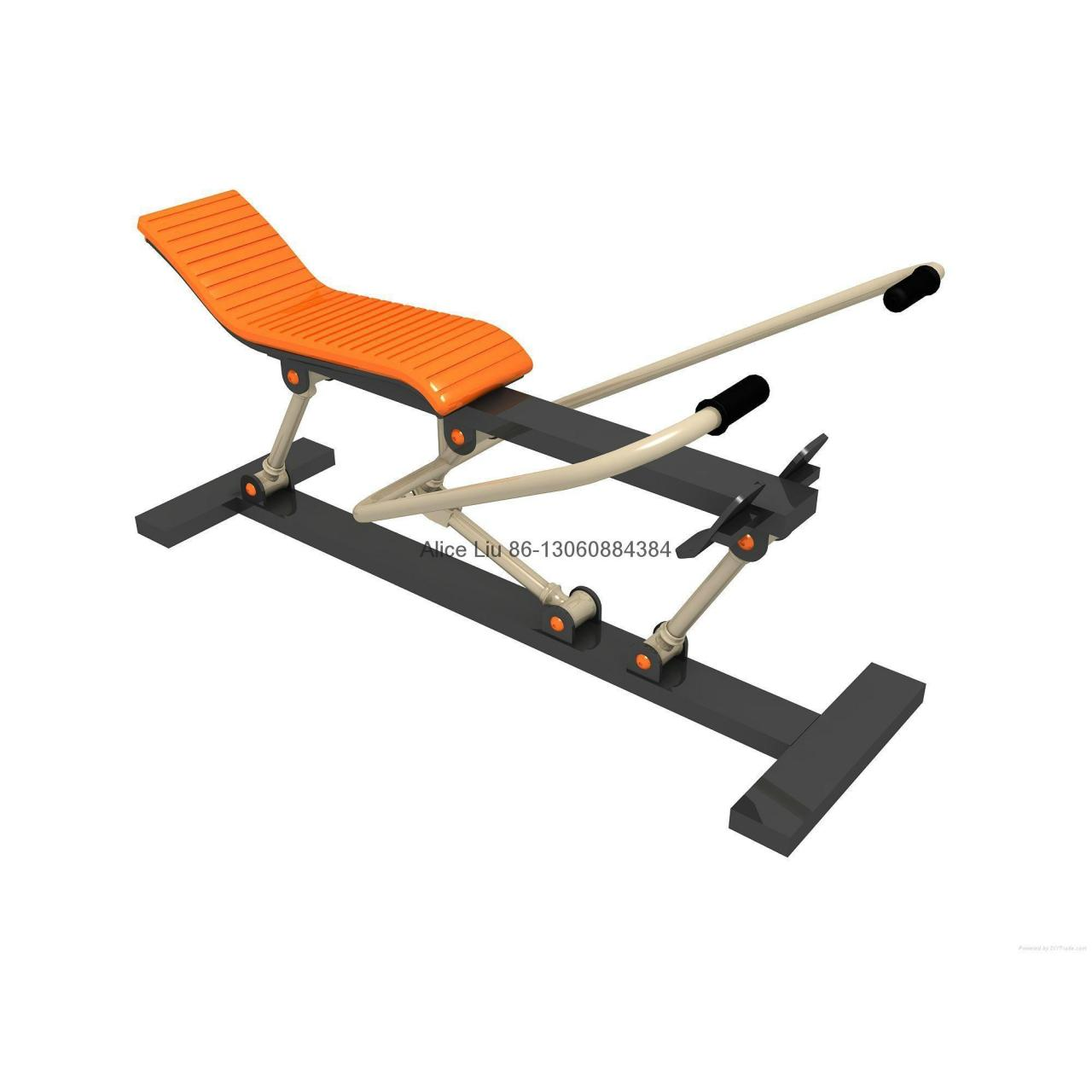 Quality Rowing machine outdoor body-building equipment for sale
