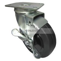 Quality 2150 plate type brake caster series for sale