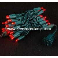 50ct Red Led 5mm Wide Angle Christmas String Lights