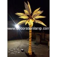 Quality summer Holiday Name and 110V, 220V Voltage LED Palm Tree Light for sale