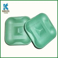 Quality Colored Molded Pulp Trays, Electronic Pulp Trays, Molded Pulp Electronic Packaging for sale
