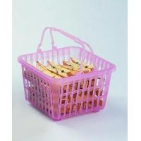 China plastic pegs in basket JX1205 on sale