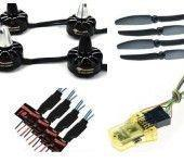Quality LD-POWER MT2204 ESC 12A propeller 6030 MINICC3D COMBO FOR 250 Carbon Fiber for sale