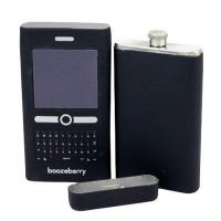 Buy cheap metal mobile phone wine flask from Wholesalers