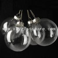 Mouth Blown Bauble Christmas Ornament