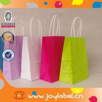 Quality Fashion design recyclable paper bag produced by fully automatic making machine for sale
