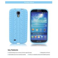 Quality Tire pattern silicone gel soft case cover skin for Samsung Galaxy S4 for sale