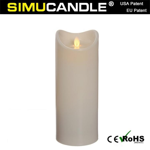 Buy 3.5 Inches Resin Candle LCF9T-I at wholesale prices