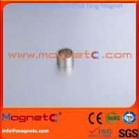 China Unipole On OD and ID Sintered NdFeB Ring Magnet on sale
