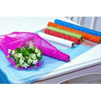 Buy cheap Flower Wrapping Materials organza by the roll Dot Foamed Organza Rolls from Wholesalers