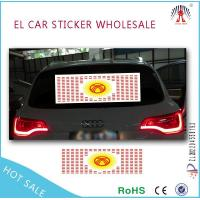 EL Car Sticker Product  el car body sticker/el glowing/ glow car sticker