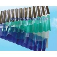 Polycarbonate corrugated tile