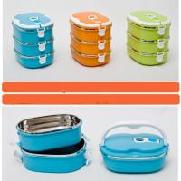 Quality stainless steel lunch box , bento lunch box for sale