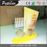 Quality custom acrylic display case for cigarette for sale