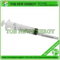 Quality 20ml Lab Syringe For Coin Cell Electrolyte Filling for sale