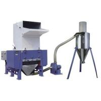 Plastic crusher with automatic recycle system