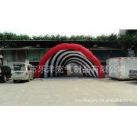 Casual celebration Lighting giant Inflatable Party Tent Red For Shopping Mall
