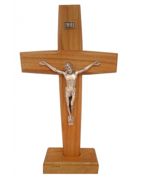 Images of handmade standing making wooden cross wholesale for Wooden craft crosses wholesale