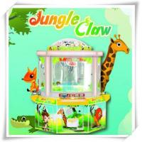Quality Prize Game Machine Jungle Claw plush crane toy vending machine & toy crane for sale