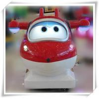 Quality Cartoon Super Wings kiddie rides game machine for sale