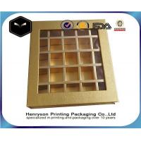 Wholesale Clamshell Paper Food Grade Cardboard Chocolate Box