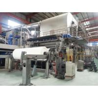 Quality Paper Machine English Fourdrinier Tissue Machine for sale