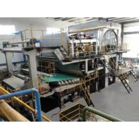 Quality Paper Machine English 20 TPD Inclined Short Table Tissue Machine for sale