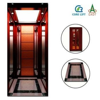 Cr12 car decoration for small safety home lift residential for Small elevator for home price