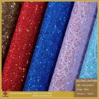 Special Shoe Material Flower Lace Glitter PU Leather (SP013)