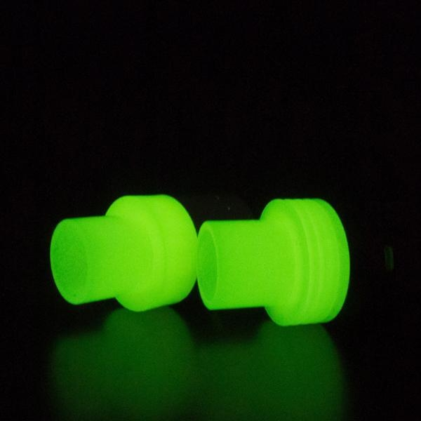 Images of vape resin glow in the dark 22mm atty top cap for Glow in the dark resin