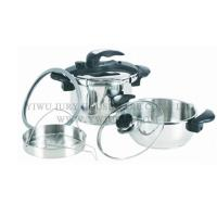 Cookware Stainless steel pressure cooker 4L + 7L