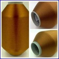 Quality Taffeta Polyester Color Weft Yarn 100D 130TPM for sale