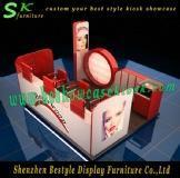 Quality Exquisite eyebrow kiosk for shopping mall for sale