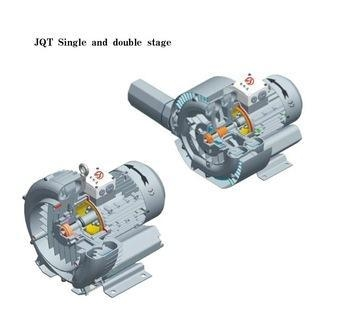 5500w side channel double stage swimming pool heat vacuum - Swimming pool heat pumps for sale ...