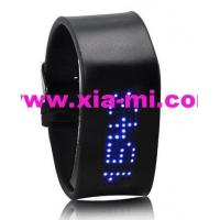 China Silicone LED Watch Led swatch swiss watch on sale