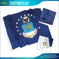 Quality Custom Made Flags 120gsm Knitted Polyester Custom Flags for sale