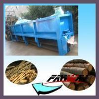 Double rollers wood bark peeling machine for sale with CE approved