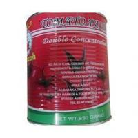 Quality canned tomato paste double concentrated tomato paste for sale