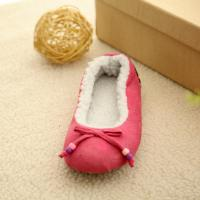 Quality Suede fabric bowknot dance shoes(KL-D-078) for sale