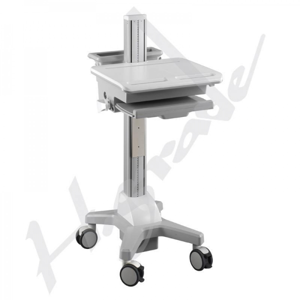 Hospital Healthcare Mobile Trolley Cart For Laptop