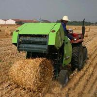 self-propelled mini hay round baler machine