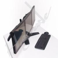 China TS743A Multi Mounts - Gaming Triple LCD Desk Mount on sale