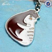 Quality PROMOTIONAL GIFT HOT LOVELY ANIMALS CAT KEYCHAIN KEYHOLDER for sale