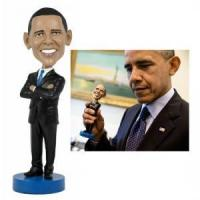 China Obama customized BobbleHead Figurine on sale