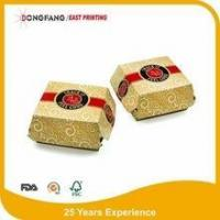 Quality burger wrapping paper box for sale
