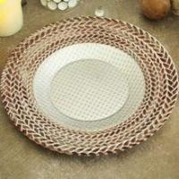 Quality Hot selling china charger plate for wedding decoration for sale