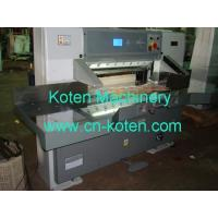 Quality Paper Cutting Machines Model No.QZYK-DC Series for sale